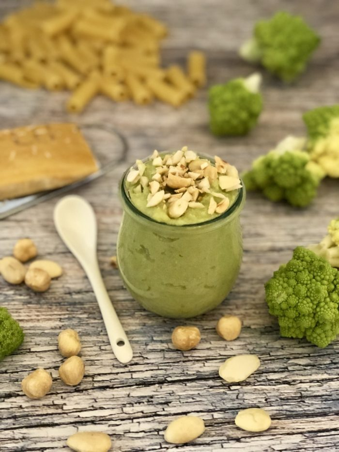Pesto di broccolo romanesco