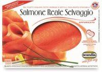 Salmone reale selvaggio affumicato