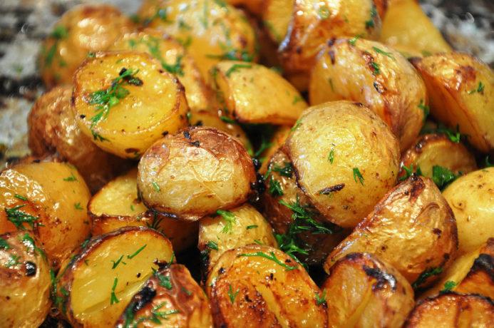 Baby Potatoes al forno