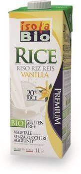Latte di riso alla vaniglia