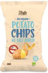 Patatine a basso contenuto di sale