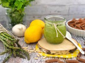 Pesto di Asparagi e Pinoli