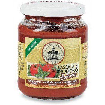 Salsa di pomodoro e basilico in omaggio