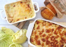 Parmigiana di patate e verza