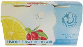 Yogurt al Limone e bacche di Goji