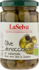Olive denocciolate in salamoia